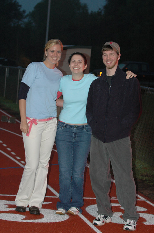 Our loyal scoring/timing crew for the whole meet!