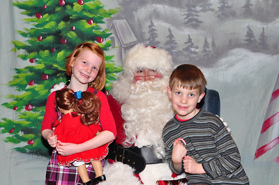 Santa's Visit with Montecito & Flamingo Hotel