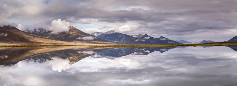 Pingo Lake Gates Of The Arctic National Park
