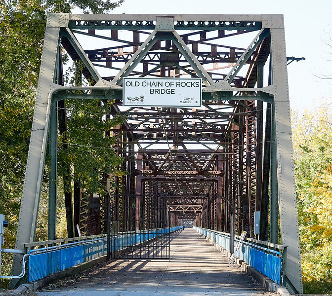 Route 66 - Chain of Rocks Bridge