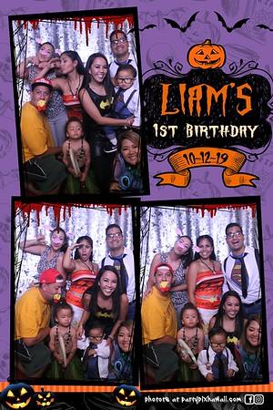 Liam's 1st Birthday (Magic Mirror Photo Booth)