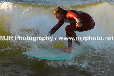 Surfing, Gilgo Beach, NY, (10-9-06)