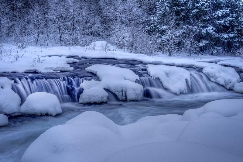 Winter Waterfall II