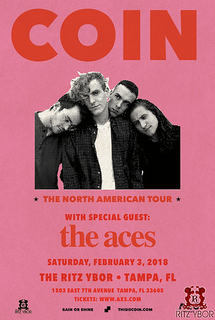 COIN The North American Tour w/ The Aces