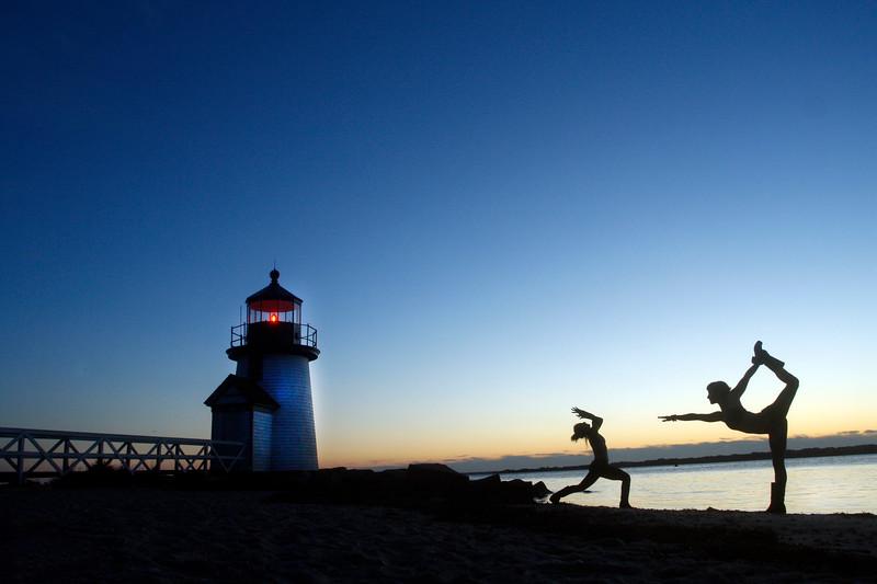 The Morning Practice ~ Nantucket Island, Massachusetts