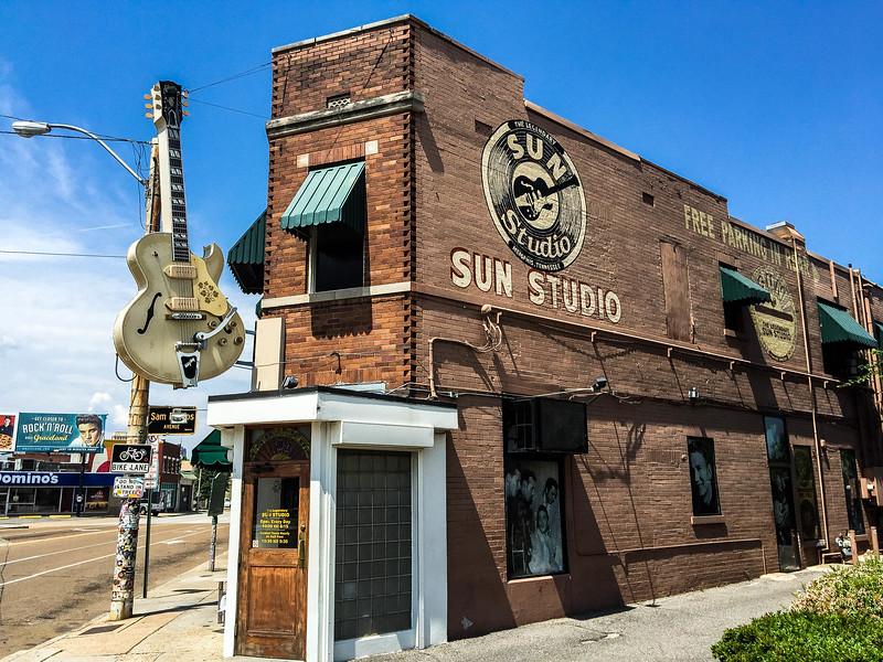 sun studio union avenue memphis
