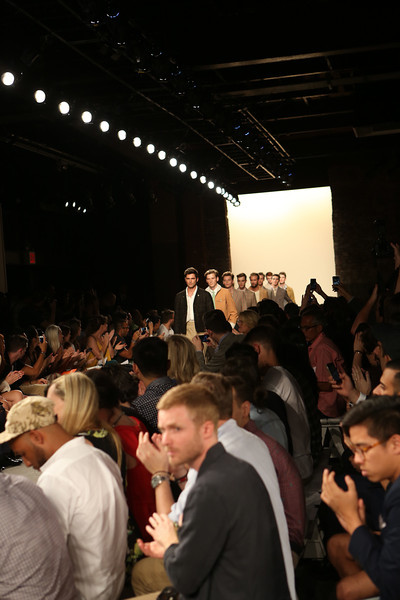 NEW YORK, NY - SEPTEMBER 07:  Models walk the runway during Billy Reid's spring 2013 fashion show during Mercedes-Benz Fashion Week at Eyebeam on September 7, 2012 in New York City.  (Photo by Chelsea Lauren/Getty Images)