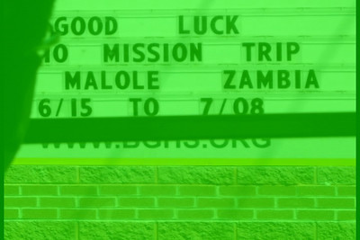 Bishop Guertin Mission to Zambia 2010