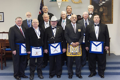 Flint Lodge #11 Officer Installation - 12/12/2016