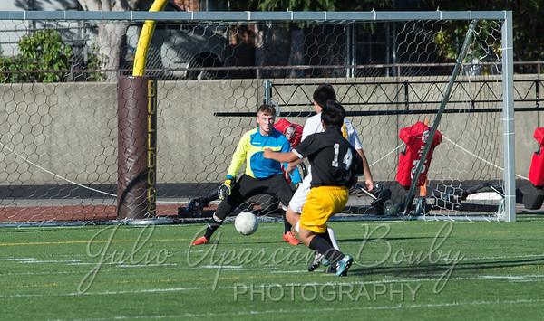 150918 NBHS JV Boys Soccer vs Philomath High School