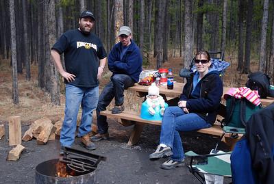 Camping- McLean Creek April