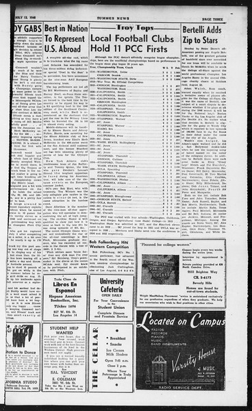 Summer News, Vol. 1, No. 8, July 12, 1946
