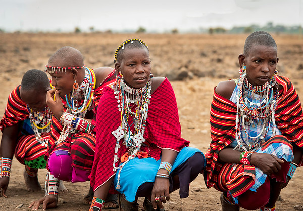 Africa: Maasai Tribal People