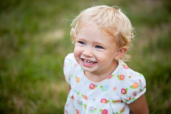 Zella, age 2