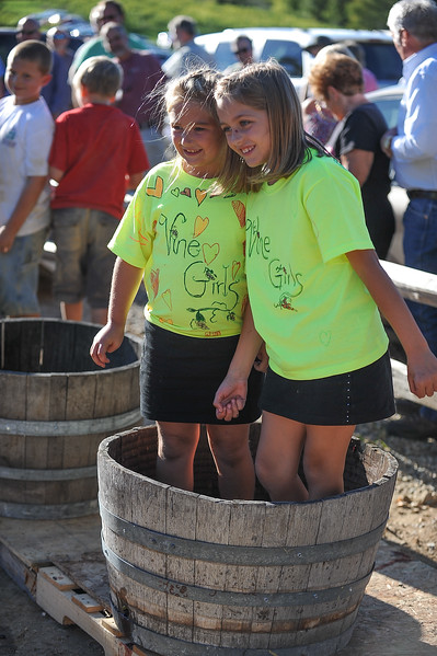 9th Annual Harvest Party, Grape Stomp 2012