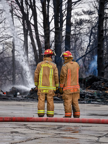 Vaughan, ON - Working Fire - Basaltic Rd / Jacob Kedder Pkwy - April 21, 2020