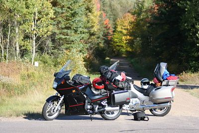 Keweenaw Motorcycle Trip Fall 2005