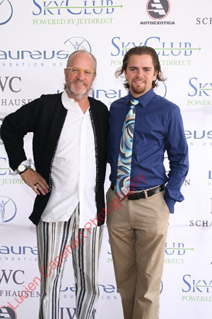 Marcel maison, Julian maison of Artmosphere. Sponers at the Laureus charity event at the interional polo club, Palm Beach