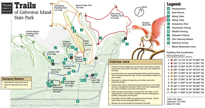 Galveston Island State Park (Trails)