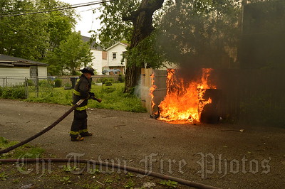 Rubbish Fire @ W 67th St & S Racine Ave