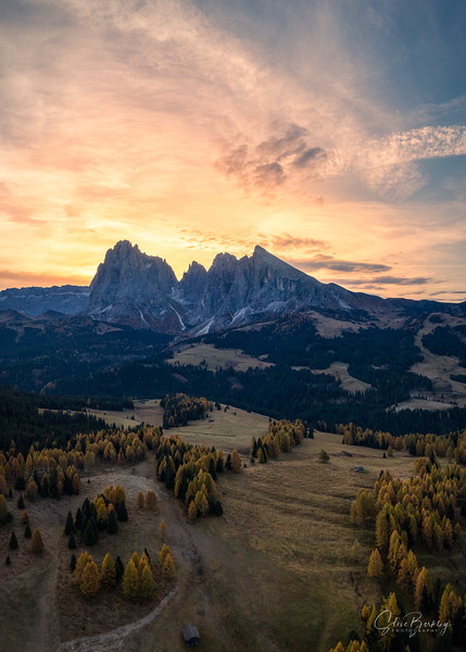 Sunrise at Alpe de Siusi II