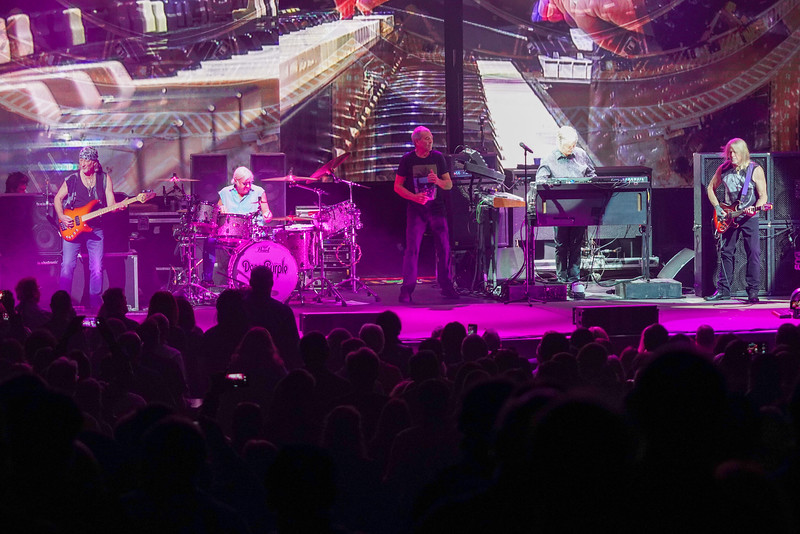 Deep Purple at the Rosemont Theatre on October 18