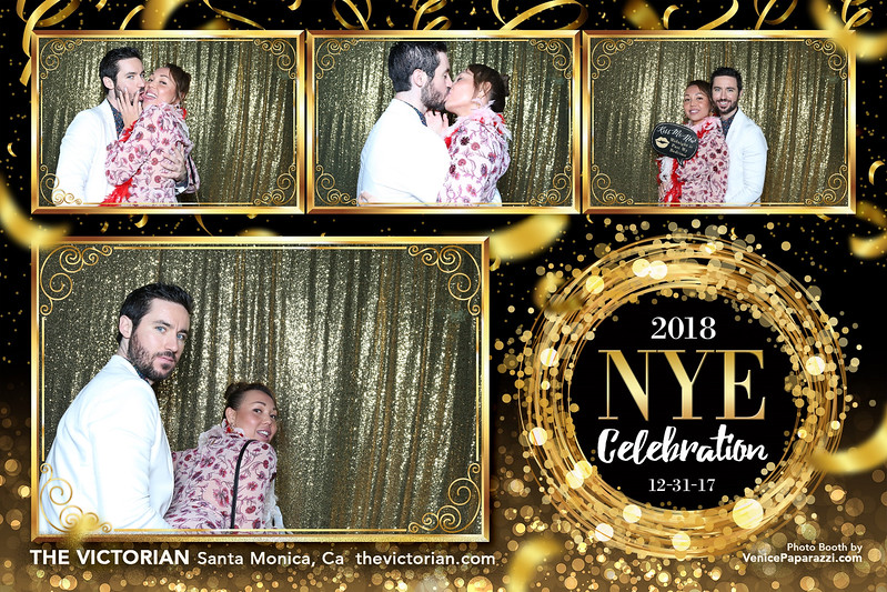 NYE at The Victorian.  thevictorian.com.  Photo Booth by VenicePaparazzi.com