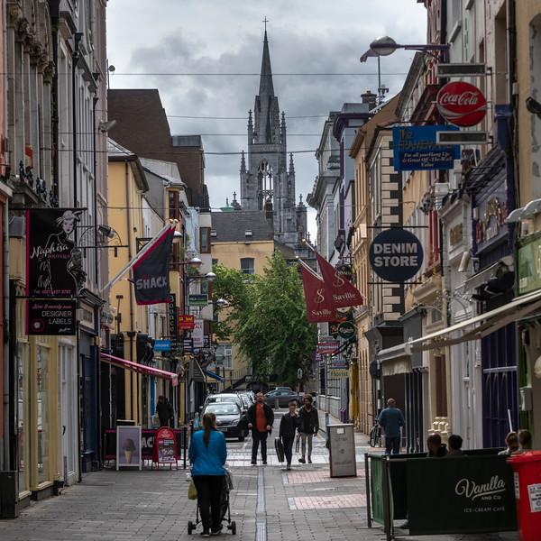 People walking on the street, City of Cork, County Cork, Ireland