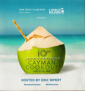 10th.Annual Cayman Cookout - 2018- Ritz Carlton -Grand Cayman Island
