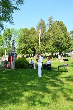 Cedar Union Church Memorial Day Ceremony May 29, 2016