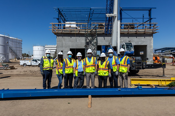 Topping out ceremony May 24, 2021