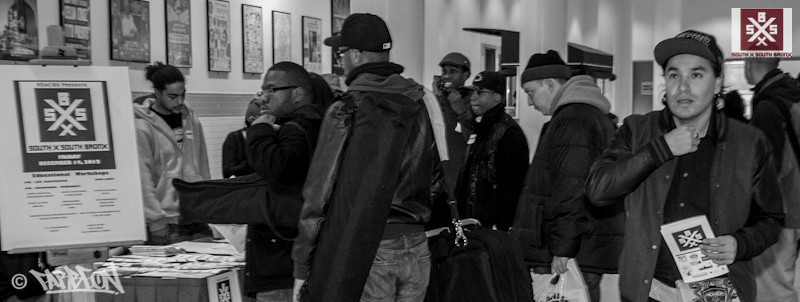 South By South Bronx - Workshops - 12.14.12