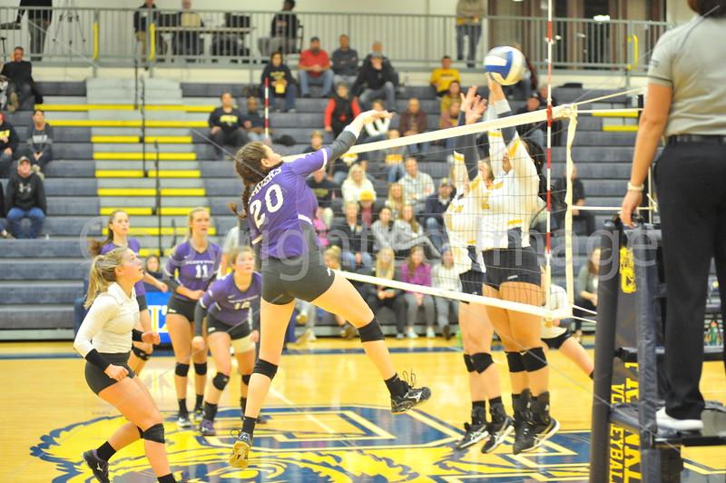 Bluffton Volleyball 101918 Franklin