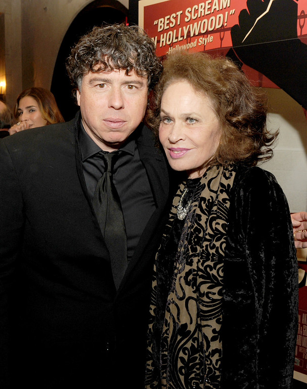 """. HOLLYWOOD, CA - NOVEMBER 01:  (L-R)  Director Sacha Gervasi and actress Karen Black attend the \""""Hitchcock\"""" premiere after party during AFI Fest 2012 presented by Audi at Grauman\'s Chinese Theatre on November 1, 2012 in Hollywood, California.  (Photo by Kevin Winter/Getty Images for AFI)"""