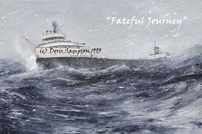 COLLECTION: EDMUND FITZGERALD...Doris Sampson ART & Howard Weis PHOTOS