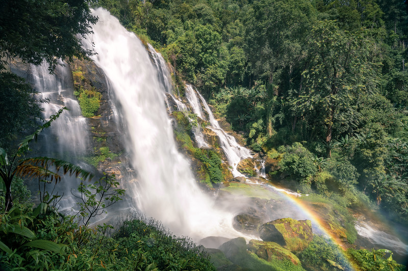 Wachirathan Waterfall & Rainbow