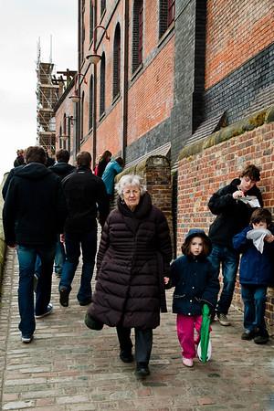 People in Camden - London