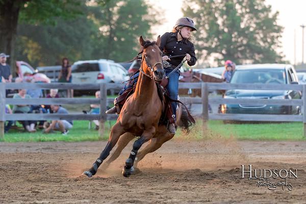08. Pole Bending Horse  Jr. Rider