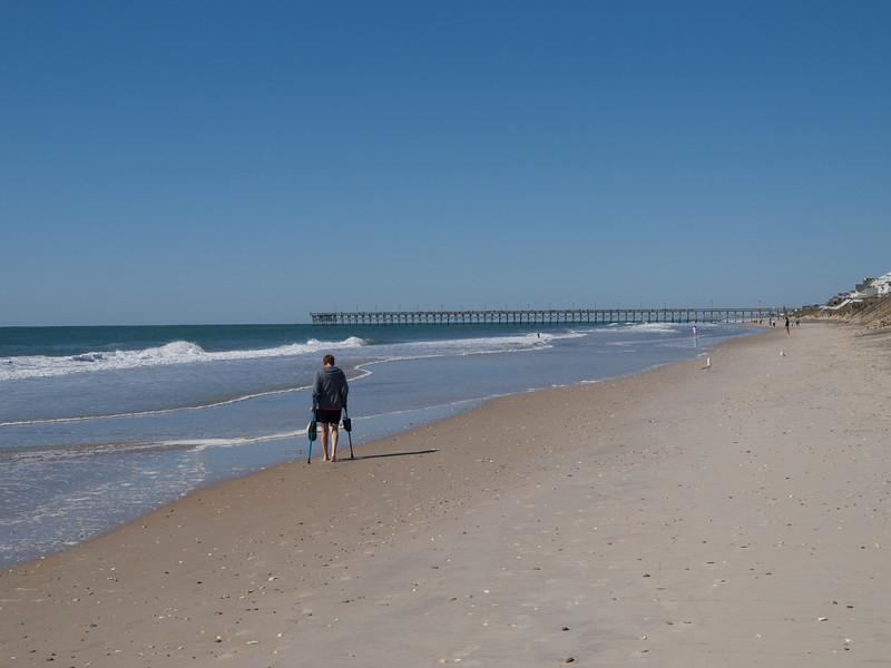 Goodbye, Topsail Island, North Carolina.