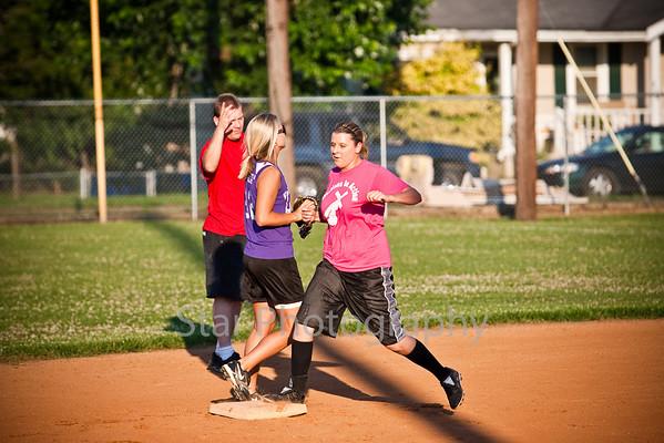 Women's Church League Softball 07-07-09