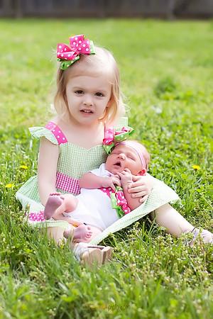 Baby Reagan-7 days-4.16.13
