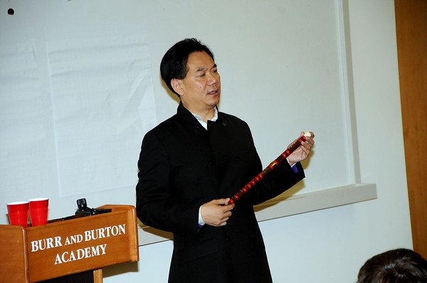 NY Times Best Selling Author Da Chen Visits BBA Social Studies Class photos by Gary Baker