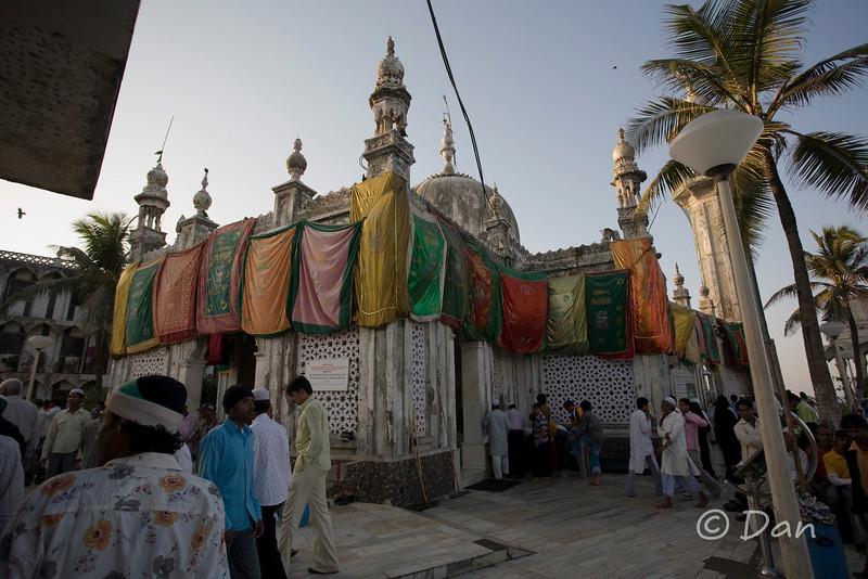 The Haji Ali mosque