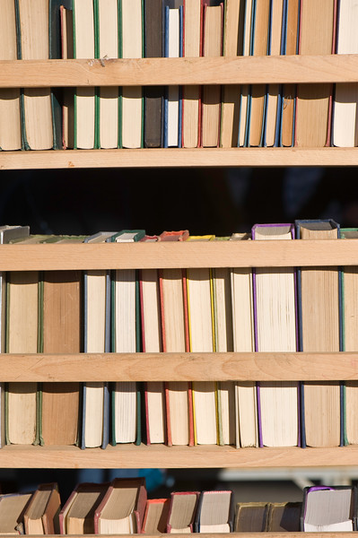 Secondhand bookshop on South Bank, London, United Kingdom