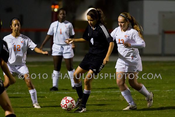 Cypress Creek @ Boone Girls JV Soccer - 2010