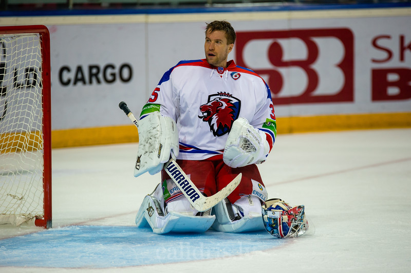 HC LEV Praha vārtusargs Petri Vehanen (35)