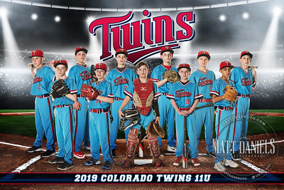 2019 Colorado Twins Baseball