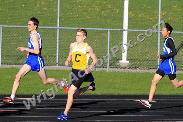 2010 04 27 Clarkston Varsity Track Meet vs Rochester HS