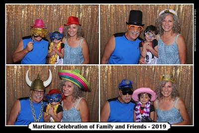 Martinez Celebration of Family and Friends - August 3, 2019