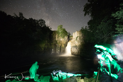 High Force by night
